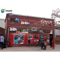 Quality 5D Cinema 5D Movie Theater Including The Outside Cabin Electronic Dynamic System wholesale