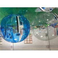 China PVC / TPU Outdoor Inflatable Toys White 2m Walk On Water Balls , Children Playing Ball On Water on sale