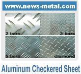 Quality Aluminum Checkered Plate/Tread sheet wholesale