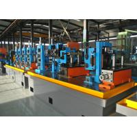 Quality Steel ERW Pipe Mill / Straight Seam Welded Pipe Production Line wholesale