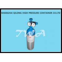 Quality Alloy Aluminum Gas Cylinder 2.67L Compressed Gas Cylinder Safety wholesale