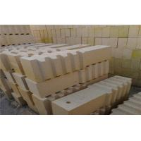 Quality Size 9''x4.5''x2.5'' Heat Resistant High Alumina Refractory Brick , Refractory Fire Bricks wholesale