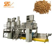 Quality Dry Wet Pelle Animal Feed Processing Plant Extrusion Machine For Dog Food wholesale