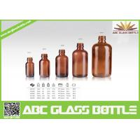 Quality Trustworthy China Supplier Amber Glass Bottle For Amber wholesale