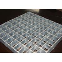 Quality Powerful Open Steel Floor Grating, Anti Corrosion Welded Steel Bar Grating wholesale