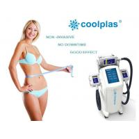 Quality Non Surgical Cryolipolysis Fat Freezing Machine , Coolplas Cellulite Reduction Machine wholesale