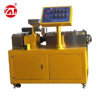 Quality Lab Rubber Testing Machine Twin Screw Rubber Extruding Machine For PVC PC PA wholesale