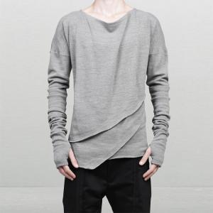 China Winter Men's Fashion Long Sleeve T Shirts , Breathable Plain Stylish T Shirts on sale
