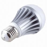 China A19 Dimmable LED Globe Bulb with 6W Power, Blue Color Temperature and CE/RoHS/FCC Marks on sale