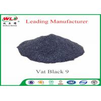 Quality RB C I Vat Black 9 Vat Direct Black Fabric Dye For Cotton Heat Resistant wholesale