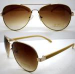 Quality Handmade Round Brown Metal Frame Sunglasses , Men Eye Glasses wholesale