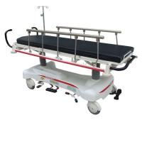 Quality Medical Aluminum Alloy Patient Transfer Trolley , Hospital Stretcher Trolley wholesale
