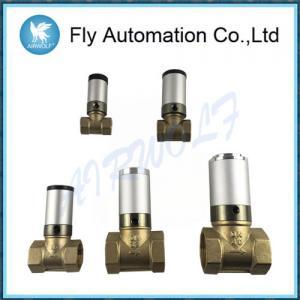 China Q22HD-15 Automotive Auto Parts 1/2 2/2 Ways Pneumatic Tube Valve Air Control Actuator Water Brass Valve on sale