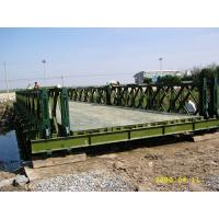 Cheap 4.5 Meter Wideness Prefabricated Foot Bridge , Double Lane HD200 Simple Steel Structures for sale