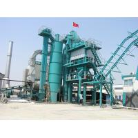 Asphalt Drum Mix Plant With 16000L Bitumen Tank 300000 Kilocalorie Heat Supply Boiler