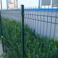 Quality Decorative Green RAL6005 Weld Wire Mesh Fencing Electric Galvanized For Public wholesale