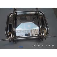 Cheap Good Source Of Materials Stainless Steel Tank Manhole High Quality Sanitary Rectangle Man Hole Manhole Cover for sale