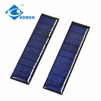 China 0.2 Watt 5V For Small Solar Power Supply ZW-8120 Light Weight Silicon solar panel photovoltaic on sale