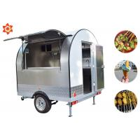 Quality Electric Fast Food Trailer Mobile Catering Truck 1300kg Weight 1 Year Warranty wholesale