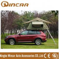 Quality 260g/280g Outdoor Custom Roof Top Tent For Car / Jeep With Canvas Fabric Double Layers wholesale