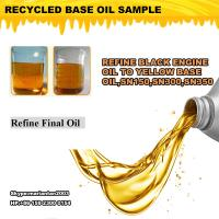 Quality Motor oil regeneration distillation equipment, used oil recycling plant, Oil Recovery wholesale