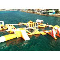 China Funny Forest Inflatable Water Park , Inflatable Water Sports Challenge on sale