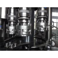 Buy cheap Aluminum / PET / POP Can Filling Machine , Fully Automatic Can Filler Cap Sealing machine product