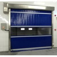 China Industrial PVC Rapid Roller Doors Automatic Formed Effective Insulation on sale