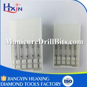 "Eco Friendly Diamond Dental Drill Bits Dental Rotary Instruments 1/16"""