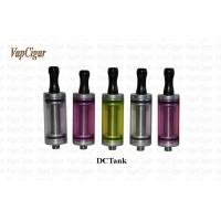 China 2.5ml DC Tank Electronic Cigarette Vaporizer / Vapor Down Replace Coil on sale