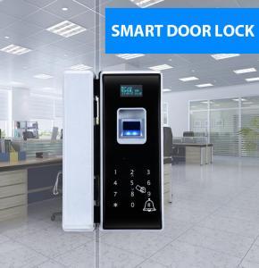 Quality Glass Door Electronic Door Locks With Fingerprint Password Remote Control wholesale