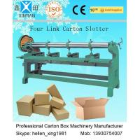 Quality Four Link Slotting Machine Automatic Carton Slotting Machinery For Corrugated Carton wholesale