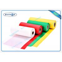 Quality Recycling Full Of Color PP Spunbond Non Woven Fabric Nontextile SGS wholesale