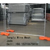 Quality Hot Dipped Galvanized Welded Wire Mesh Temporary Fence 50X50, 60X60, 75X75, 50X150, 60X150, 75X150 wholesale