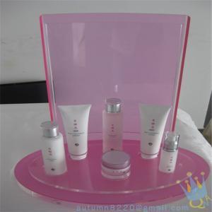 Quality large pink makeup organizer wholesale