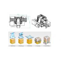 Quality Auto Pallet Stretch Film Wrapping Machine With Hydraulic Stretching System wholesale
