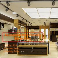 China Wooden baking paint clothing store furniture,clothes shop  furniture design clothing store on sale