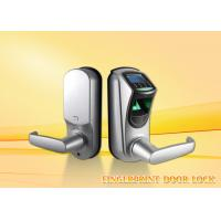 Quality Intelligent zinc alloy security  biometric fingerprint door lock for home with CE / FCC wholesale