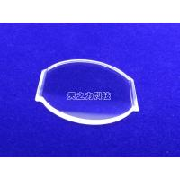 Quality 85% - 99% Transmissivity Synthetic Sapphire Glass H9/HV1800-2200 Hardness wholesale