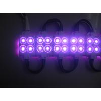 Quality osram/epistar chipPurple Color for 4smd injection led module-1.44W with 3 years warranty wholesale