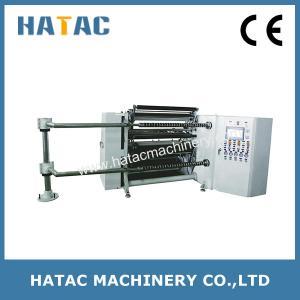 China Gift Paper Slitting Rewinding Machine,Wallpaper Rewinding Machine,Slitter Rewinder for Paper Film Foil on sale