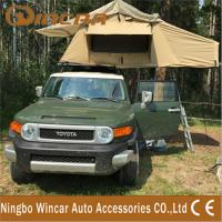 Quality 420D 260G / 280G ripstop canvas Waterproof roof top tent For travel wholesale