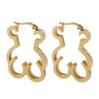 Quality Women Gold Plated Stainless Steel Earrings Touch Love Costume Jewelry Earrings wholesale