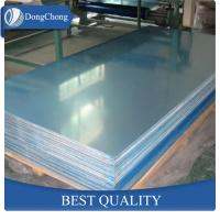 Quality Large Plain Aluminium Alloy Sheet High Weldability Width 100-1500mm wholesale