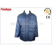 China Outdoor Windproof Mens Long Winter Coats Parka For Factory Working on sale