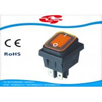 Quality Waterproof 4 Pin Rocker Switch , KCD4-130FS On - Off Replacement Rocker Switch wholesale