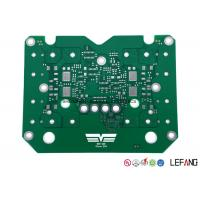 China TG180 Single Sided PCB Power Supply Circuit Board With Green Solder Mask on sale