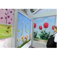 China printed roller blinds fabric on sale