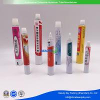 China Dia. 16mm Pharmaceutical Cream Pharmaceutical Ointment Packaging Aluminum Tubes on sale