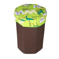 Quality Decorative small octagonal storage box bag easy carrying chair for children wholesale